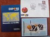 POSTALES Y SOBRE EXPO 92