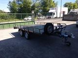 Plataforma 750 kg 2 ejes freno1850 - foto