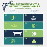 Don futbolin eventos, productos. - foto