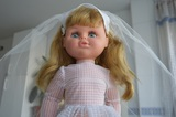 Muñeca comunión de los  años 70 - foto