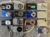 Lote 14 cámaras digitales para piezas - foto