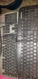 lote 8 teclados ps2 - foto