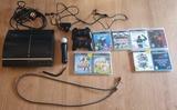 Consola PS3 con mandos, move y juegos - foto