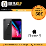 Reparar pantalla iphone 8 en Málaga. - foto