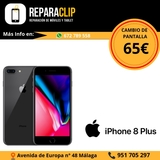 Cambiar pantalla iphone 8 plus Málaga - foto
