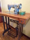 Máquina de coser . - foto