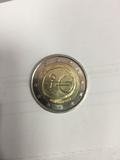 Moneda 2 euros UEM - foto