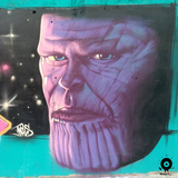 Decoracion graffiti murales ourense - foto