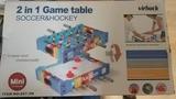 Mesa 2 en 1 madera futbolin-hockey - foto
