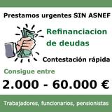 REUNIFICACION DE DEUDAS 2. 000 A 60. 000 - foto