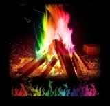 Multicolor llamas 15 gramos - foto