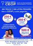 Ceop sevilla implante +corona=500euros - foto