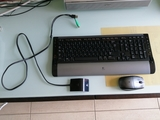Teclado y ratón inalámbricos - foto