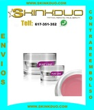 Gel Silcare UV Gel rosa 15 gr uñas - foto