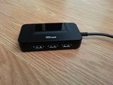 Hub USB 3.0 + Ethernet Trust - foto