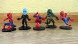 5 figuras spiderman - foto