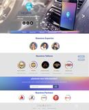 Maqueta/ mock up de app y web - foto