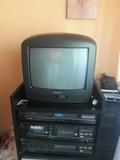 Televisión con TDT de batería y luz - foto