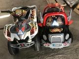 Lote moto y coche eléctricos - foto