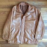 Cazadora/chaqueta de cuero talla 58 XXL - foto