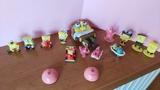 muñecos de Bob Esponja Kinder - foto