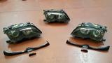 faros xenón y molduras BMW e46 restiling - foto