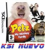 Juego nintendo ds petz my monkey family - foto