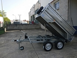 Remolque basculante 2,40x1,40 750kg - foto