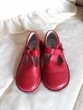 Zapato rojo. - foto