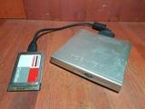Cd dvd externo + tarjeta cardbus toshiba - foto