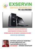 Alquiler de equipos informáticos , - foto