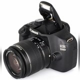 Canon 1200D 18MP FULL HD + 2 OBJECTIUS - foto