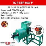 PRENSA DE ACEITE DE PALMA | BJR-ESP-MG-P - foto