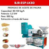 PRENSA DE ACEITE DE PALMA | BJR-ESP-LK80 - foto