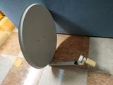 parabólica y receptor satelite - foto