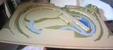 Maqueta perma tren 144 x 94 cm. - foto