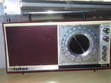 Radio transistor vintage inter - foto