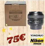 objetivo para nikon 50mm - foto