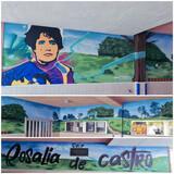 Se realizan graffitis/murales artisticos - foto