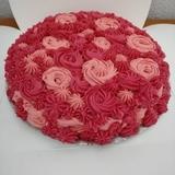 Tarta de rosas - foto