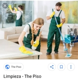 limpieza de pisos restaurantes bar - foto