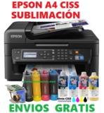 Impresora A4 sublimación todo instalado - foto