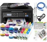 Kit impresora A4 Epson tinta Pigmentada - foto