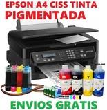 Impresora oficina A4 CISS todo instalado - foto
