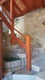 rural a dornela carne pan vino y pulpo e - foto