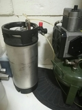 Depósito de agua destilada.100 euros - foto