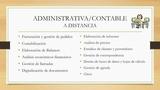 ADMINISTRATIVA/CONTABLE A DISTANCIA - foto