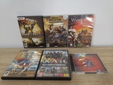 Pack de 4 juegos para PC + 2 incompletos - foto