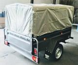 Remolque toldo 2x1,30m eje 900 kg - foto