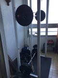 Jaula + 100kg pesas - foto